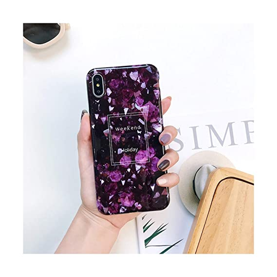 Amazon.com: Luxury Marble Phone Case for iPhone 7 Case for ...