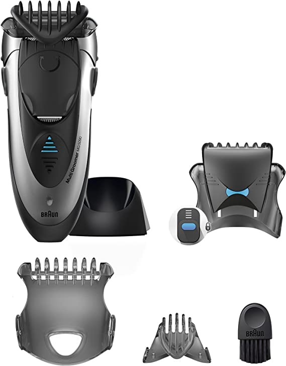 Braun MG5090 Mens Multi Groomer Wet and Dry Shaver Styler and ...