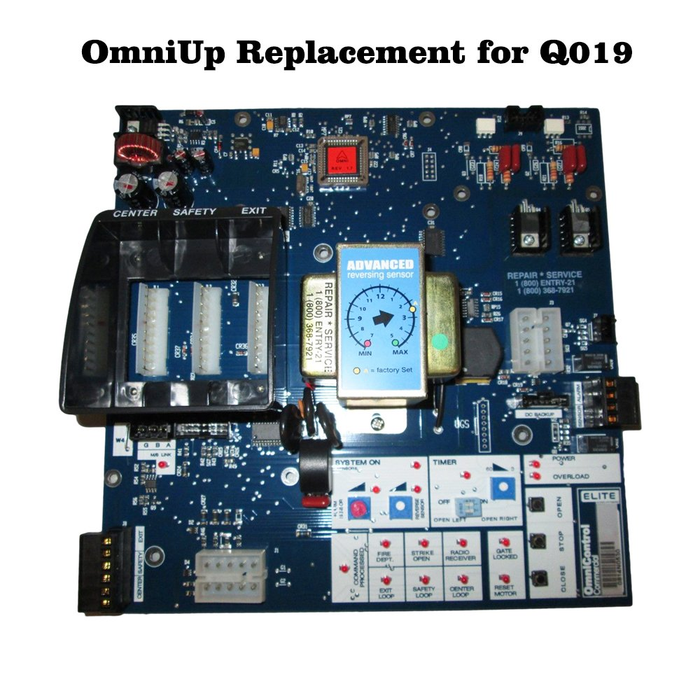 Replacement Board - OMNIUP kit Upgrade for Q019 Circuit Board - For Elite Gate Opener by Elite (Image #2)
