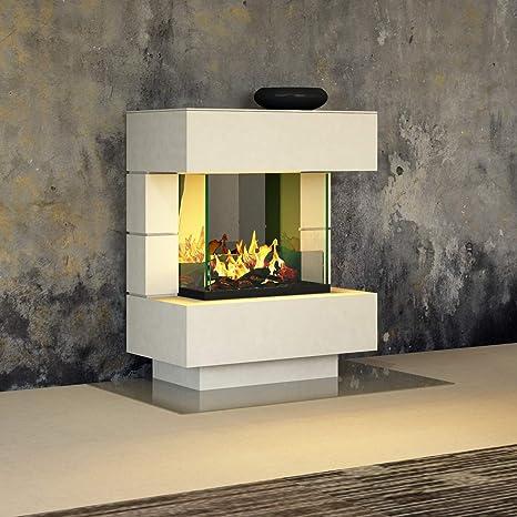 muenkel Diseño London 750 [Chimenea eléctrica OPTI de Myst]: Wunsch Color Según RAL