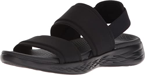 Skechers Womens/Ladies On-The-Go 600 Foxy Leather Sandal