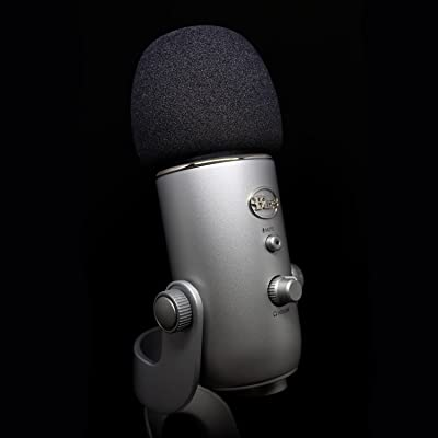 Professional Foam Windscreen for Blue Yeti