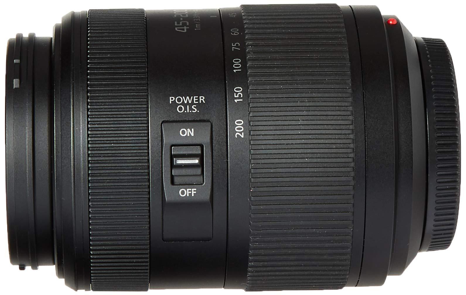 Panasonic Lumix G II Vario Lens, 45-200mm, F4.0-5.6, Mirrorless (H-FSA45200) by Panasonic