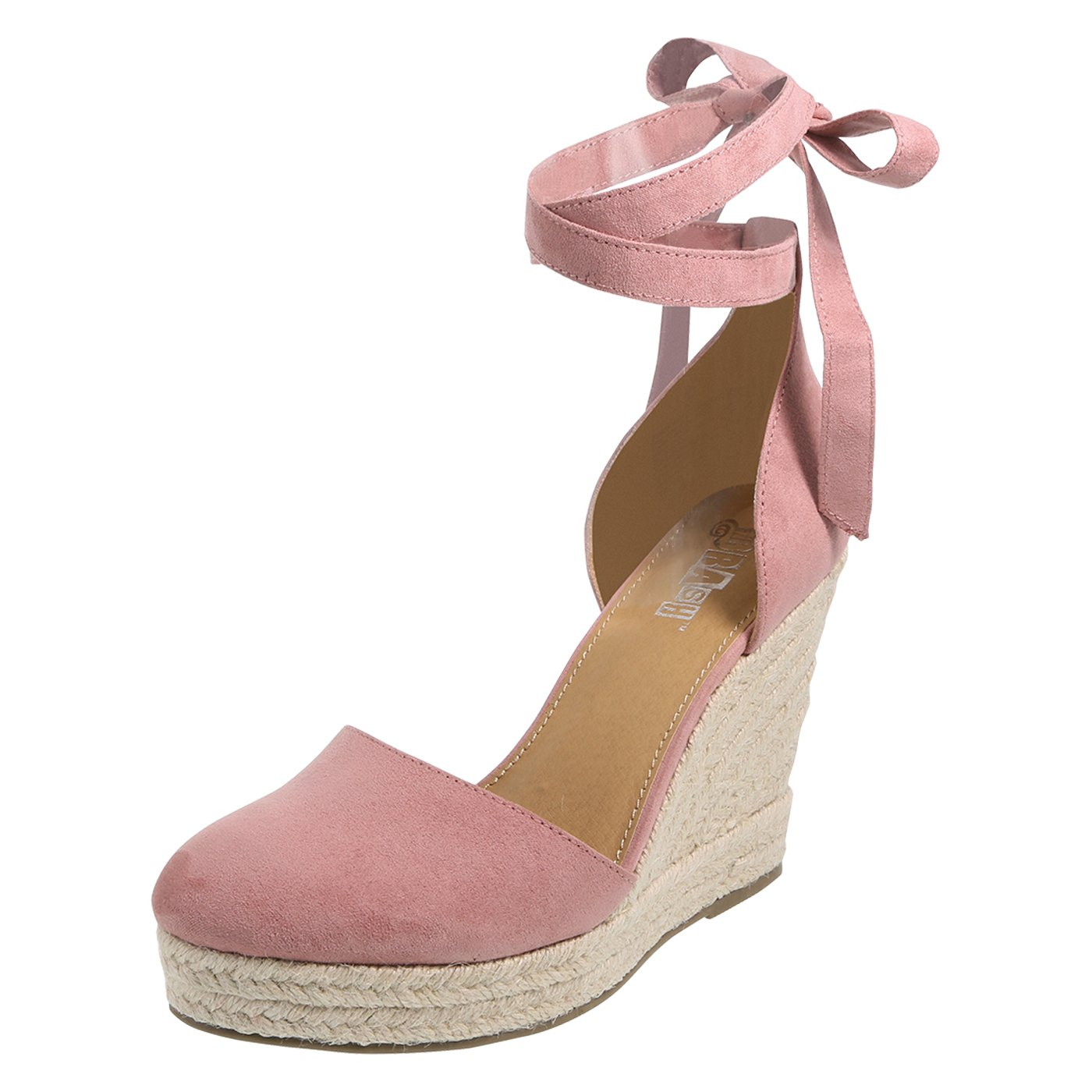 68aefffa8d9 Brash Mauve Women's Escape Espadrille Wedge Sandal 13 Regular ...