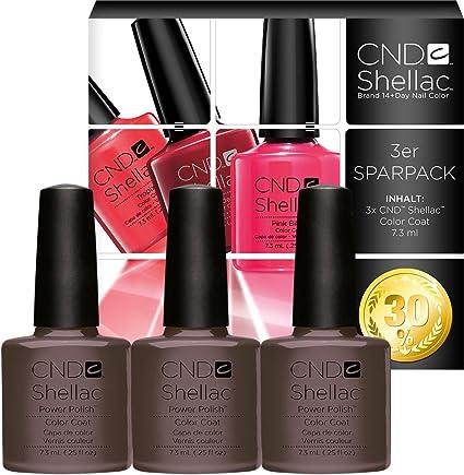 CND Rubble Pack of 3, Esmalte de gel de uñas - 22 ml.: Amazon.es: Belleza