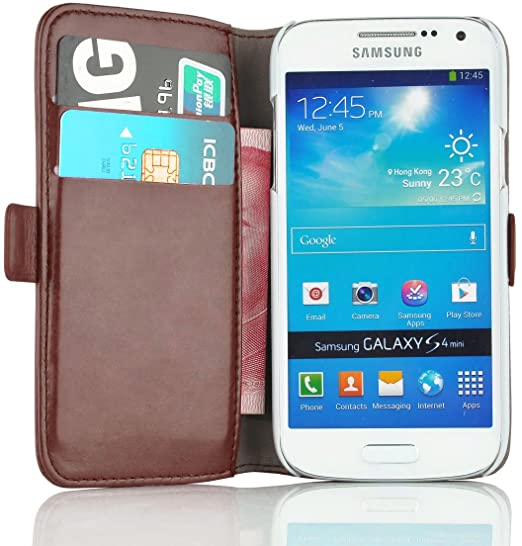 299 opinioni per Cover Galaxy S4 Mini, JAMMYLIZARD [Luxury Wallet] Custodia a Libro Portafogli in