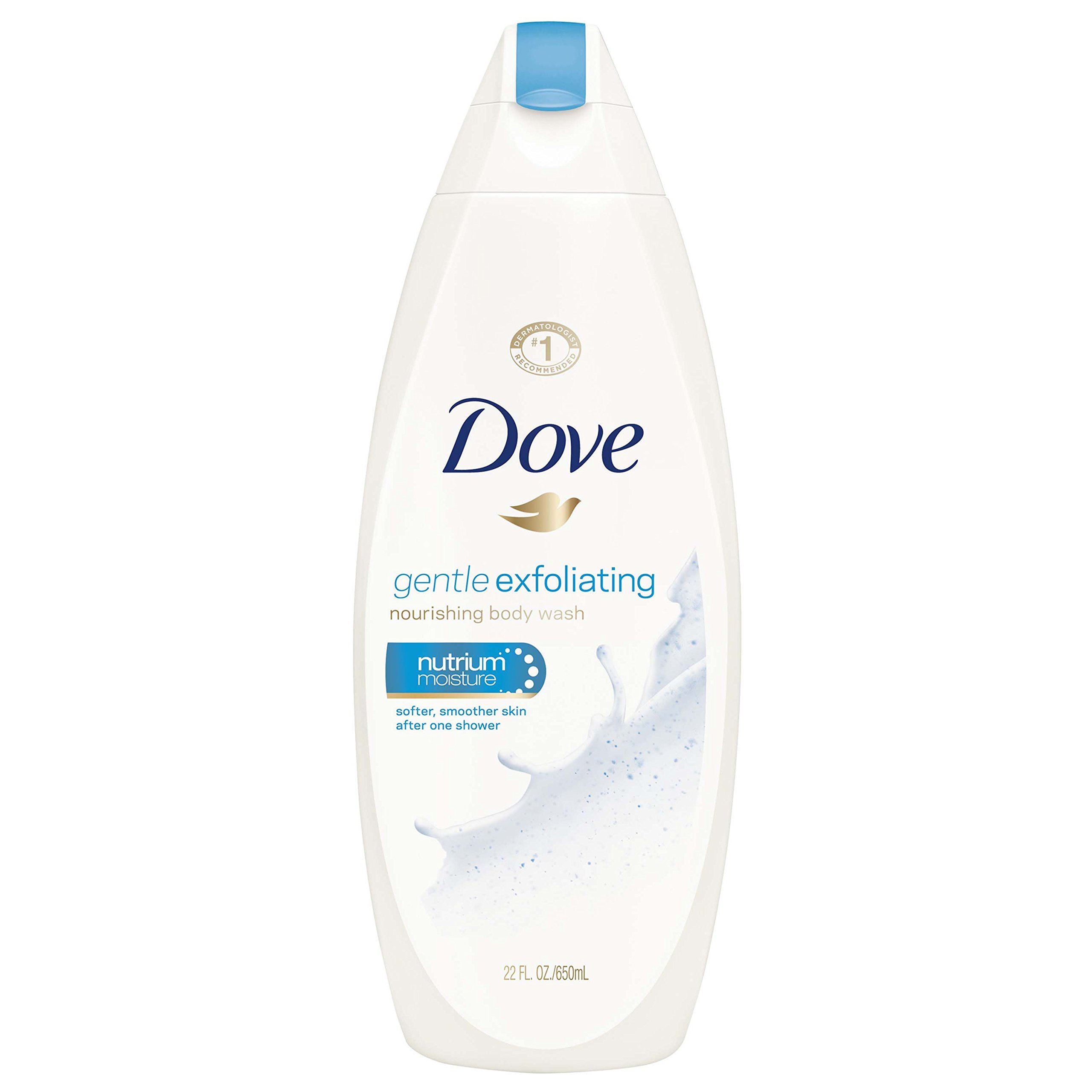 Dove Body Wash, Gentle Exfoliating 22 oz, 4 Count by Dove (Image #4)