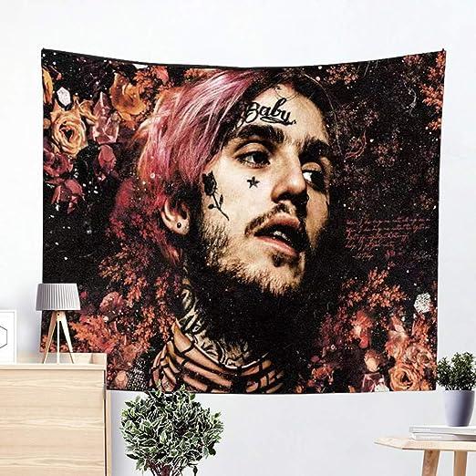 Amazon Com Sunsist Lil Peep Tapestry Rapper Tapestry Wall