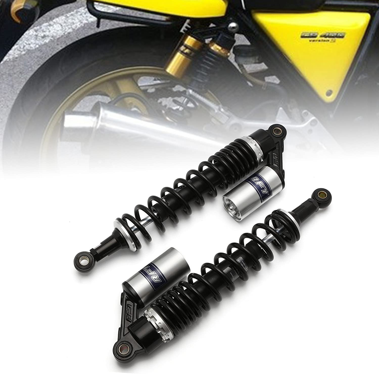"15.75/"" 400mm Rear Shock Absorbers Suspension for Yamaha Honda Kawasaki BMW Gold"