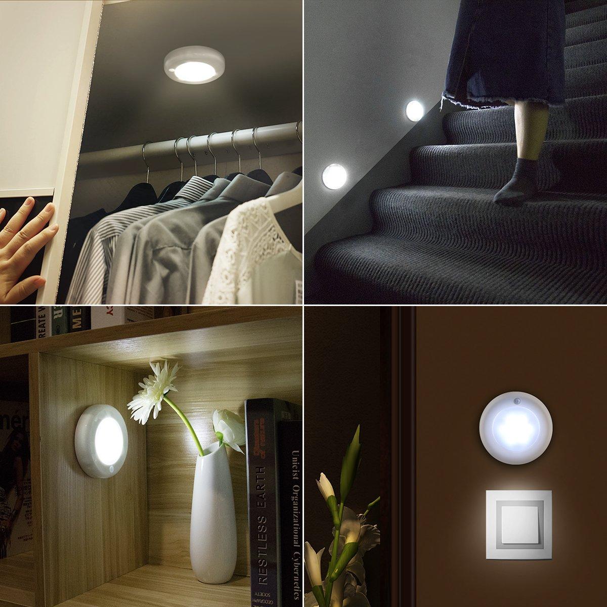 Bildergebnis für Bewegungssensorlicht led rund