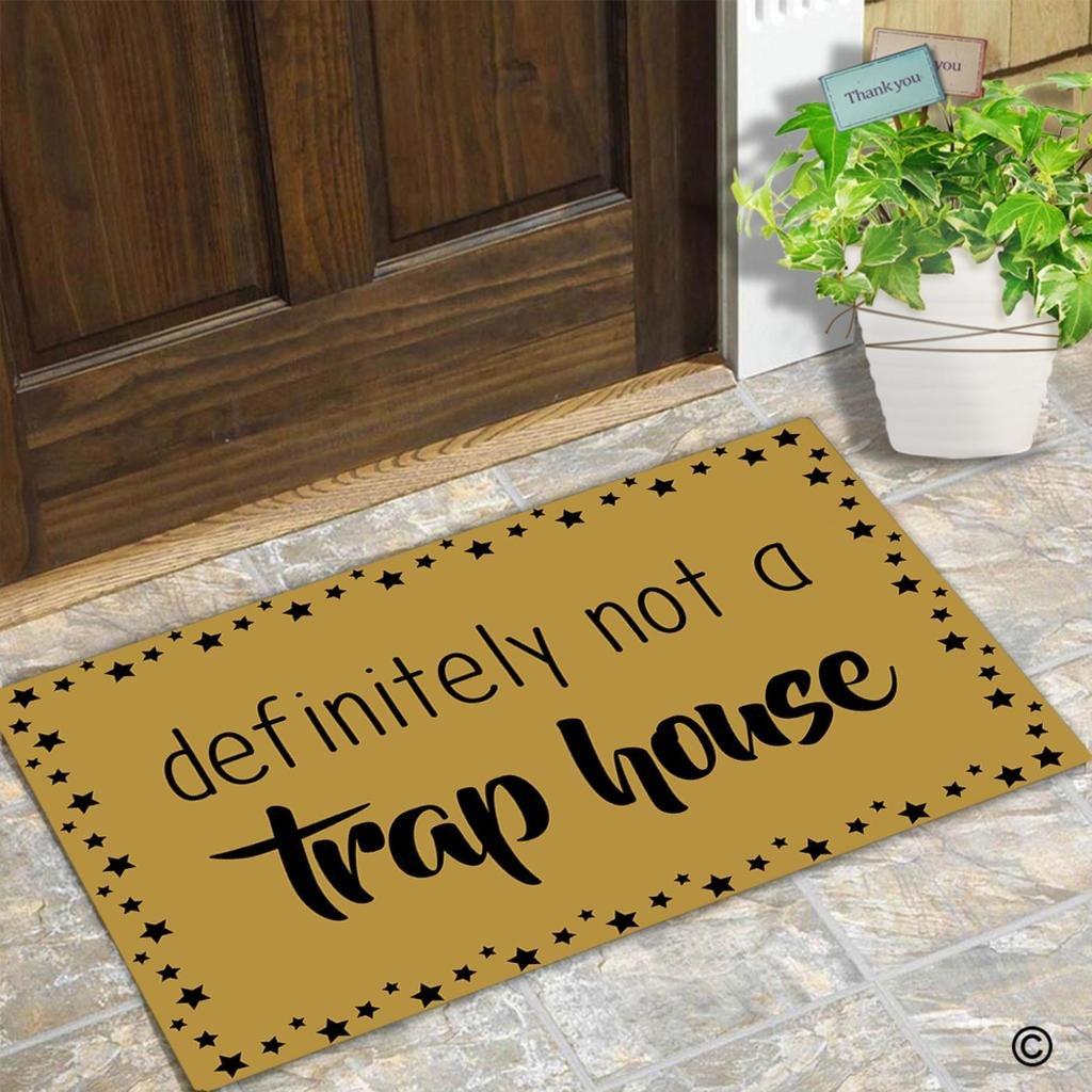 Doormat keep the change you filthy animal doormat photographs : Amazon.com : MsMr Doormat Funny Doormat Definitely Not A Trap ...