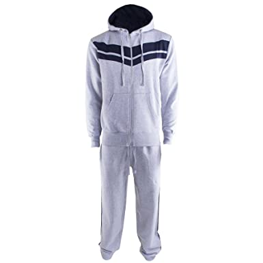 25e5d9c591b2 Kids Girls Boys Casual Running Zipped Sports Jogging Gym Stripes Full  Sleeves Hooded Hoody Sweatpants Tracksuit All Sizes  Amazon.co.uk  Clothing