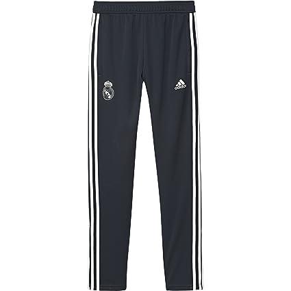 de7098c1bb0 Amazon.com   adidas 2018-2019 Real Madrid Training Pants (Dark Grey ...