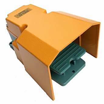 CNTD cfs-502 1 A1B 250 V 15 A Protección Guardia Industrial único Pedal Interruptor