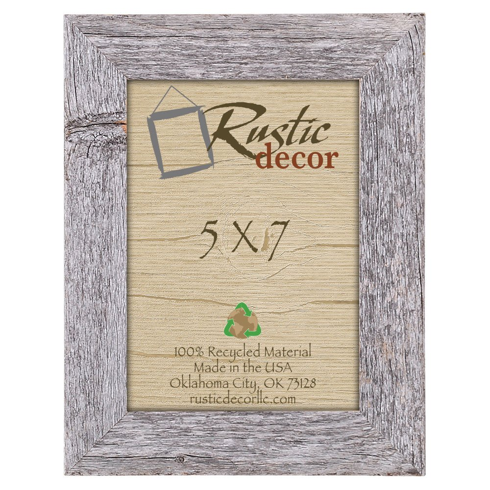 Amazon 5x7 picture frames barnwood reclaimed wood standard amazon 5x7 picture frames barnwood reclaimed wood standard photo frame single frames jeuxipadfo Choice Image