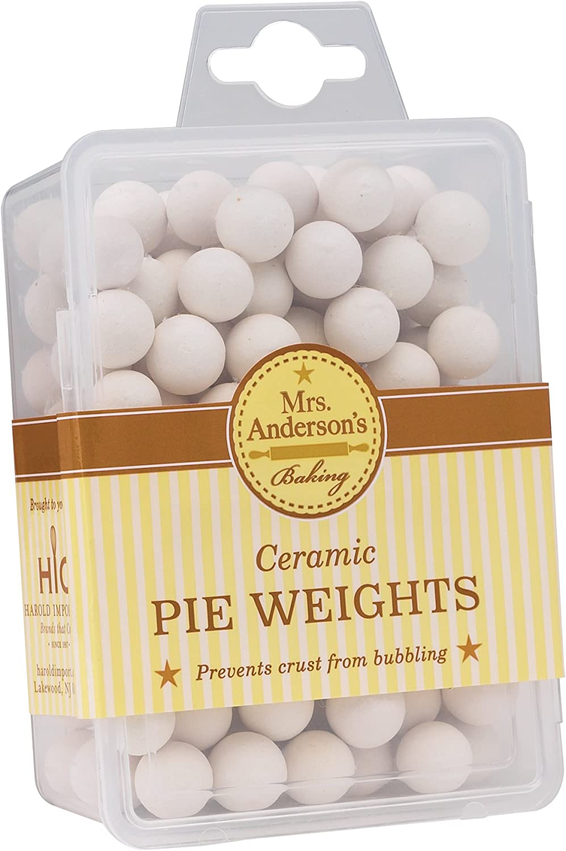 Mrs. Anderson's Baking Ceramic Pie Crust Weights, Natural Ceramic Stoneware