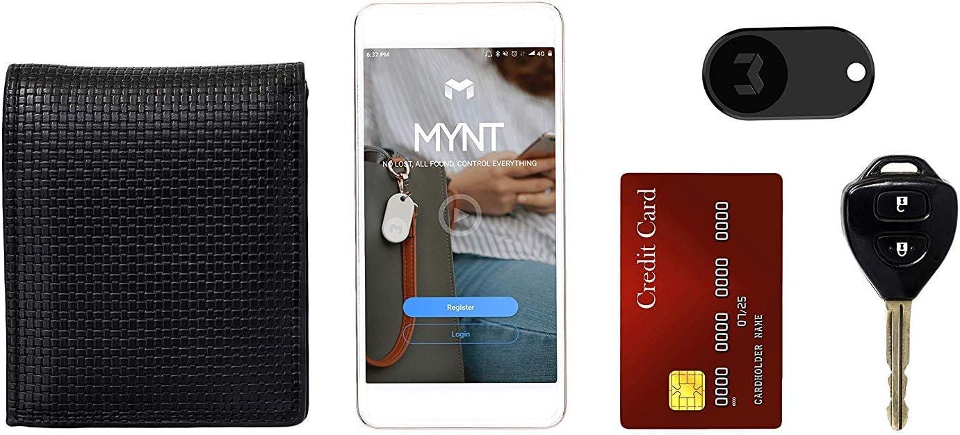 Mynt ES Cl/é//Portefeuille et t/él/éphone et Planches 1 Noir