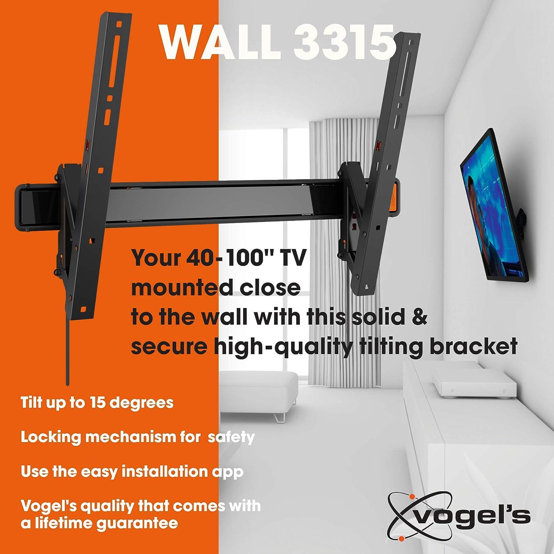 Vogels WALL 3315, Soporte de pared para TV 40: Vogels: Amazon.es ...