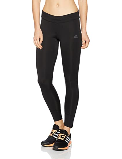 adidas Rs Lng Tight W Mallas, Mujer Negro, 2XS