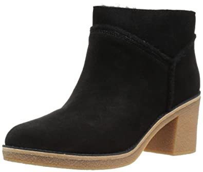 a6ad093d82d UGG Kasen Mouse Suede Heeled Ankle Boot