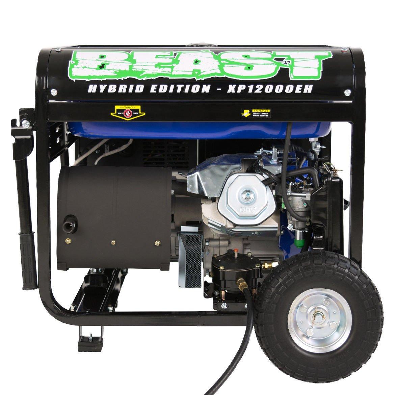 DuroMax XP12000EH Dual Fuel Portable Generator