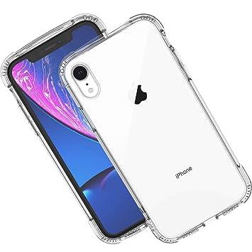 Syncwire Funda para iPhone XR - [ Serie Armor ] Cristal Carcasa iPhone XR con Tecnología de Protección Anticaídas y cojín de Aire para Apple iPhone ...