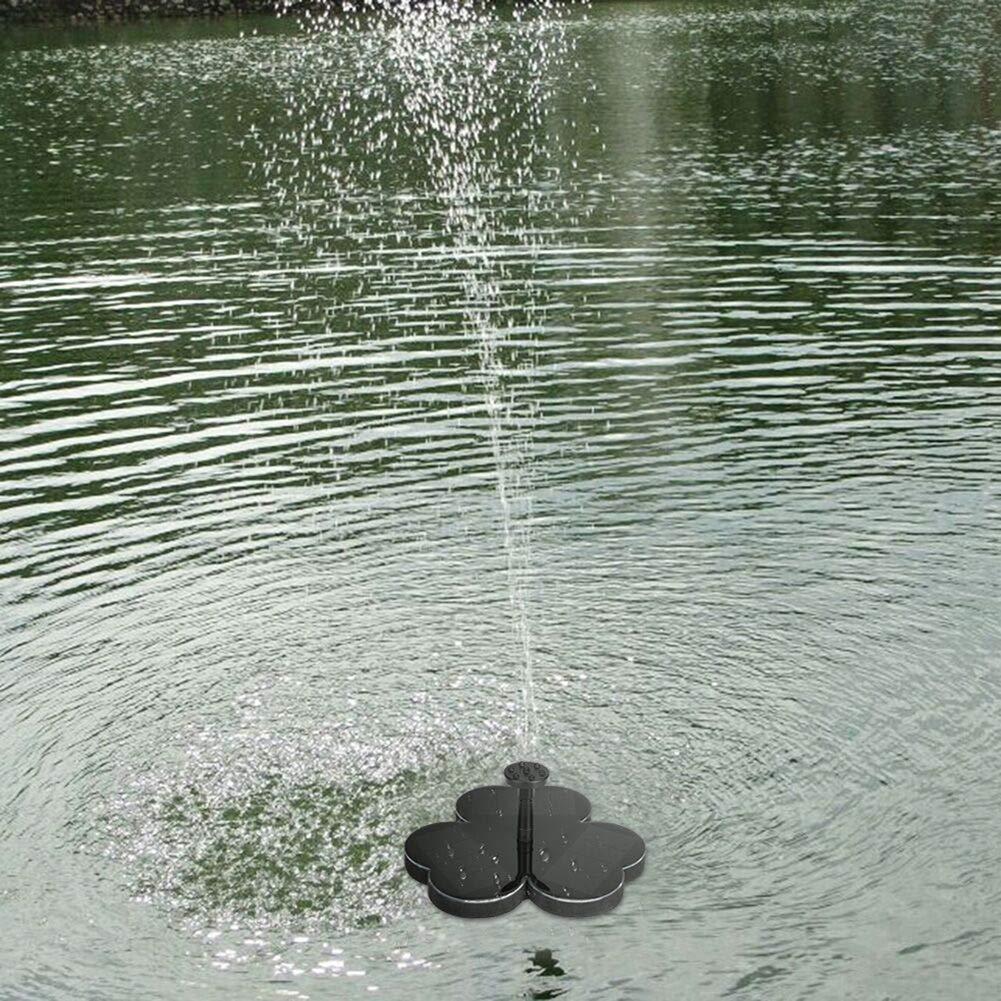 Yzpyd 190L/H Fuente Solar al Aire Libre riego sumersa 6V Bomba de Agua para jardín Fuente Piscina Fuente de Agua Paisaje decoración