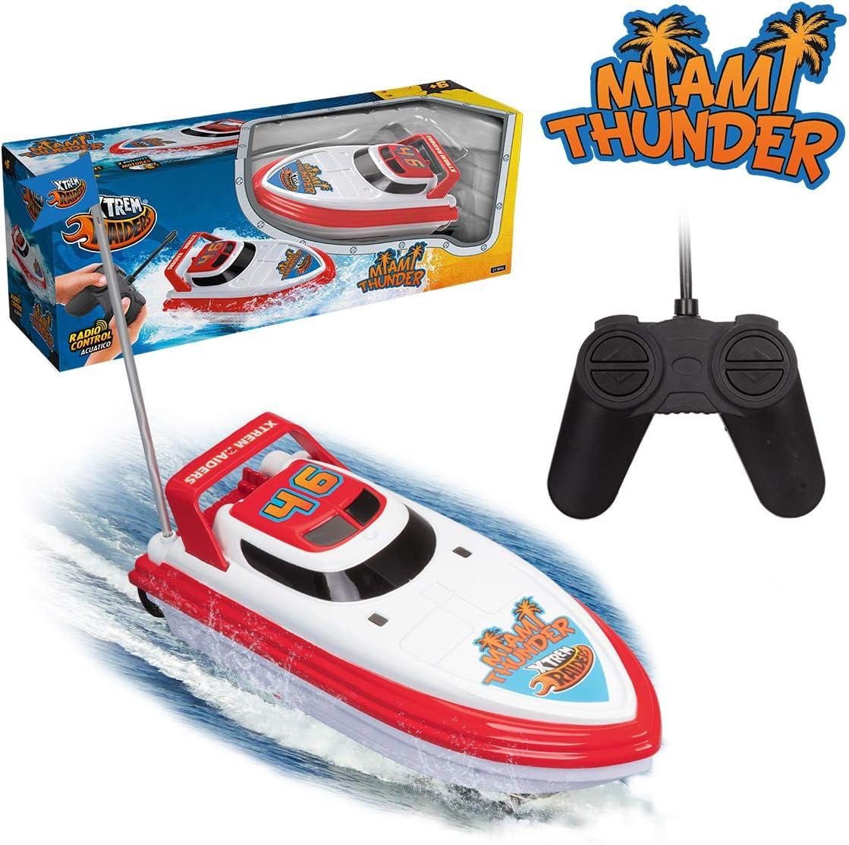 Xtrem Raiders- Miami Thunder, Color Blanco y Rojo (XT580837)