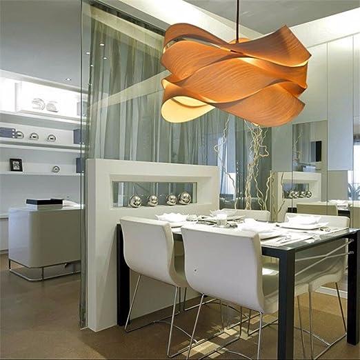YLTT-moderne in legno Ciondolo lampada da designer spagnolo camera ...