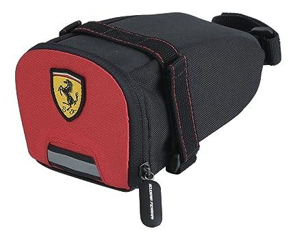 Amazon.com: Ferrari Bolsa de sillín bicicleta sillín de ...