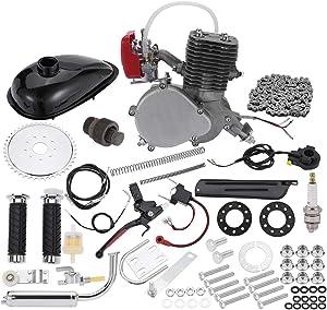 Fiudx Bicycle Motor, Full Set 100CC Bicycle Motor Kit 2 Stroke Petrol Gas Motor Engine Kit Set,Motorized Bicycle Kit,Bike Engine Gas Motor Kit