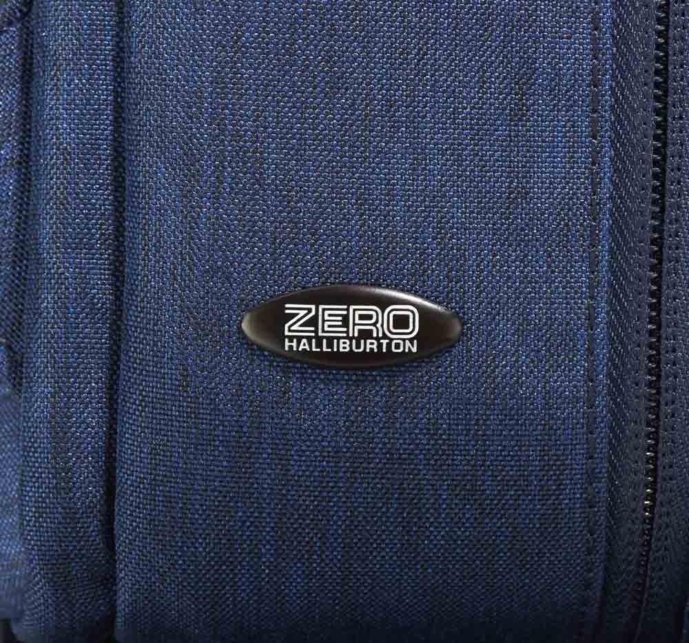 Zero Halliburton Lightweight Business Shoulder Bag in Black