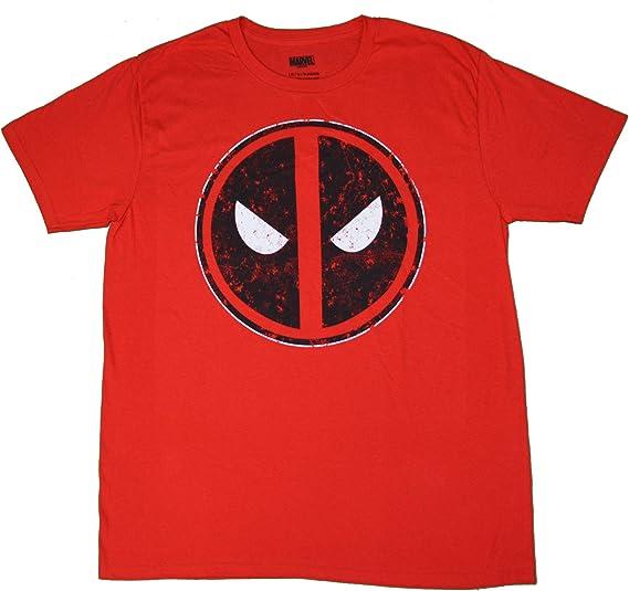 Fashion Deadpool - Camisa para Hombre, Color Rojo - Rojo - Large: Amazon.es: Ropa y accesorios