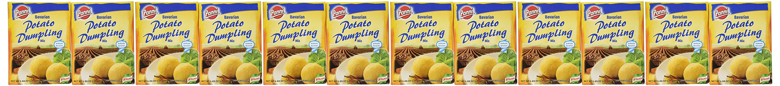 Panni Bavarian Potato Dumpling, 6.88 Ounce (Pack of 12) by Panni