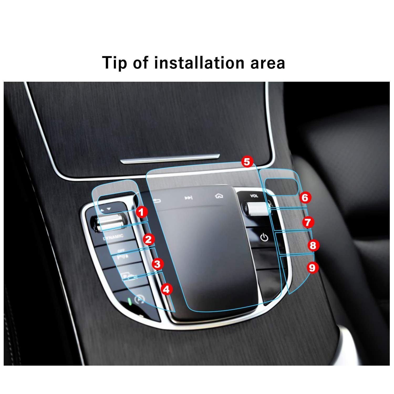 RUIYA 2P Touch Controller PET Film For 2019 Mercedes Benz