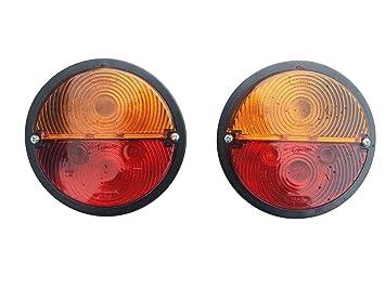 1x Rückleuchte Links Traktor Schlepper Rücklicht Blinklicht Bremslicht