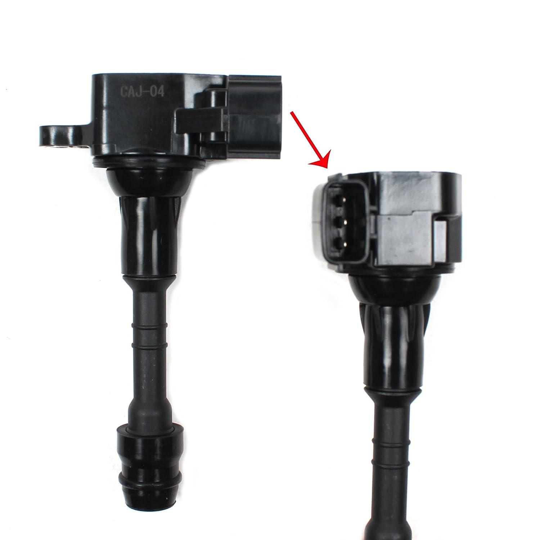 Left /& Right Engine Valve Cover w//Gasket /& Ignition Coil Set For Nissan 350Z Infiniti FX35 G35 M35 3.5L DOHC