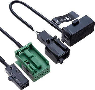 Autoradioadapter Bluetooth Kabelbaumkabel 12 Polig Kit Elektronik