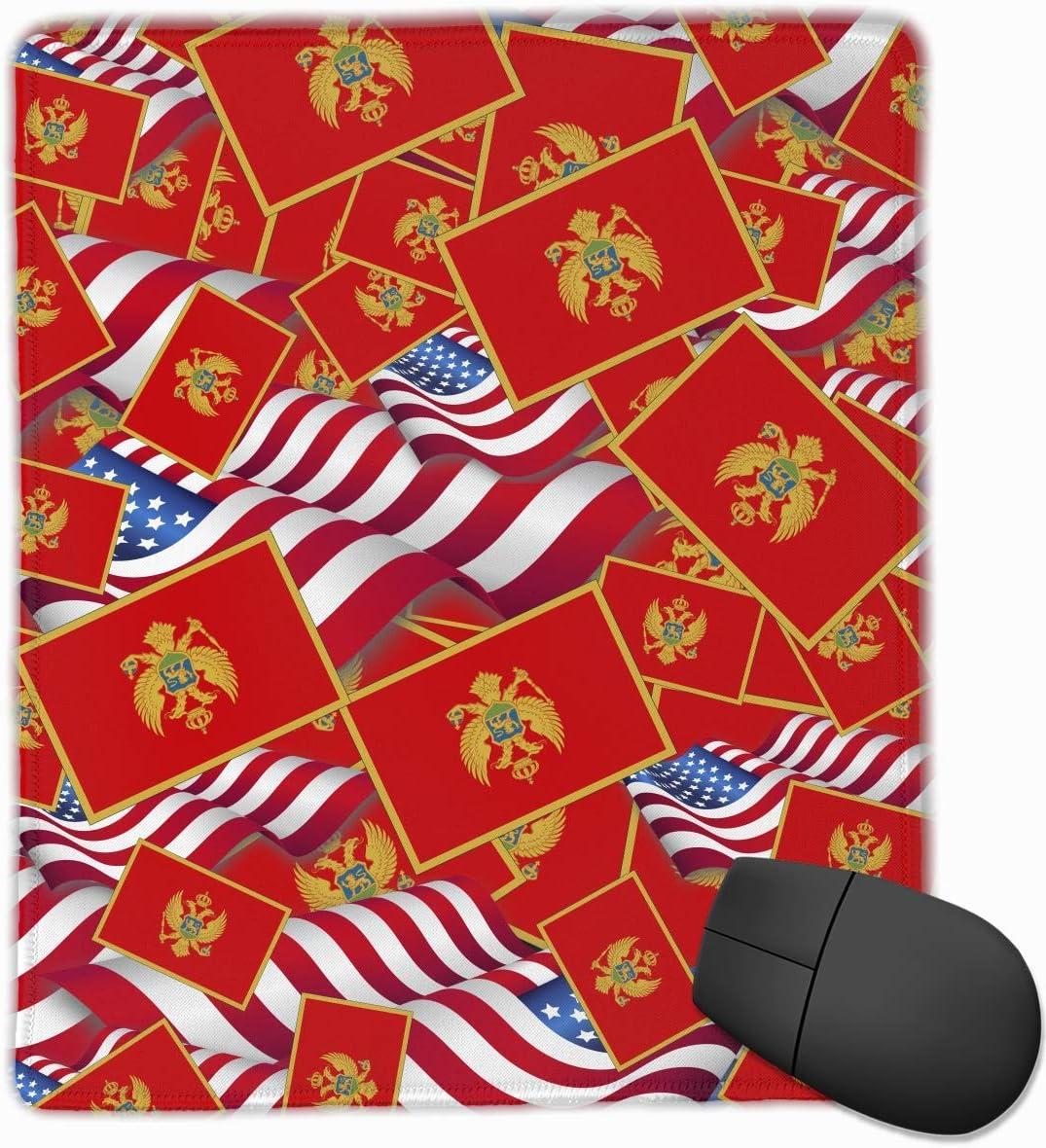 Alfombrilla de ratón Bandera de Montenegro con la Bandera de ...