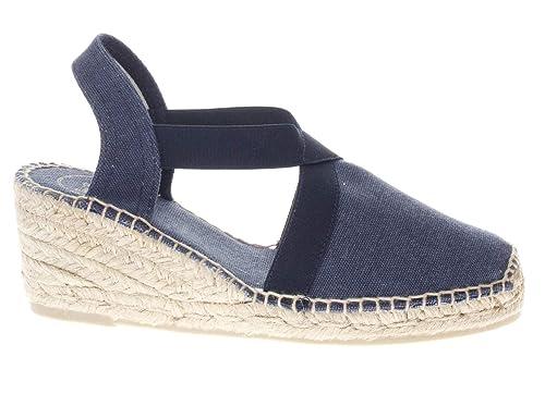 Toni Pons - Alpargatas de Lona para Mujer Azul Marino: Amazon.es: Zapatos y complementos