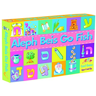 Jet Aleph Beis Go Fish Game: Toys & Games