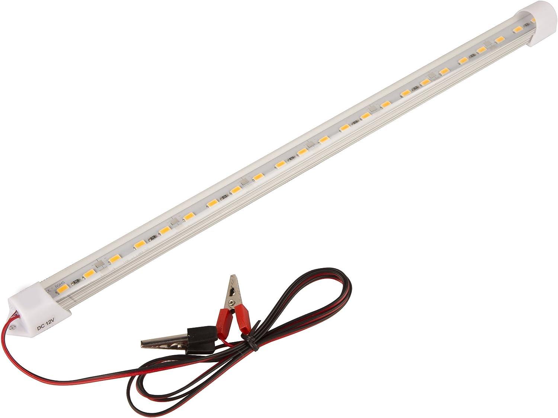Van Interior Light Bar Tento 13.5 12V Interior Light Lamp Strip Bar with ON//Off Switch for Car Van Bus Caravan Bright Cool White Light 6000k Pack of 2