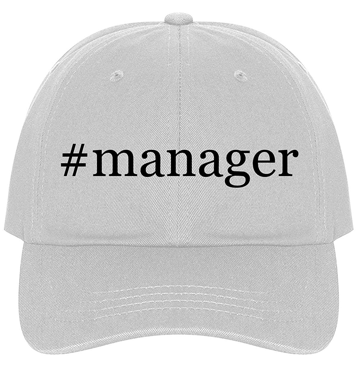 The Town Butler #Manager A Nice Comfortable Adjustable Hashtag Dad Hat Cap