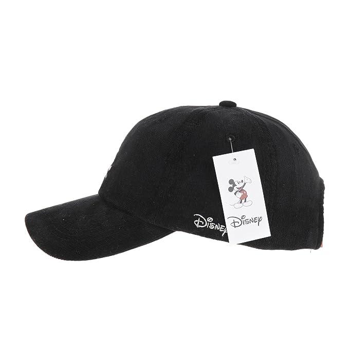 WITHMOONS Gorras de béisbol Gorra de Trucker Sombrero de Disney Mickey Mouse  Stitch Corduroy Baseball Cap Hat CR1440 (Black)  Amazon.es  Ropa y  accesorios d85be776492