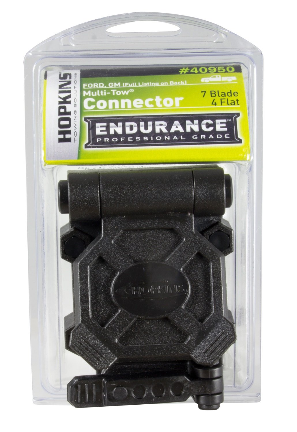 Endurance Hopkins 40950 Multi Tow 7 Blade And 4 Flat Pin Car Truck Connectors 2539 Trailer Wiring Harness Kit Buy Vehicle Automotive