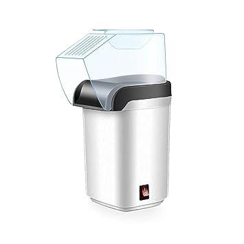 Palomitero, Máquina de hacer palomitas de aire caliente, Popcorn maker, Sin Aceites, Tapa Removible, 1200W de potencia (Blanco): Amazon.es: Hogar