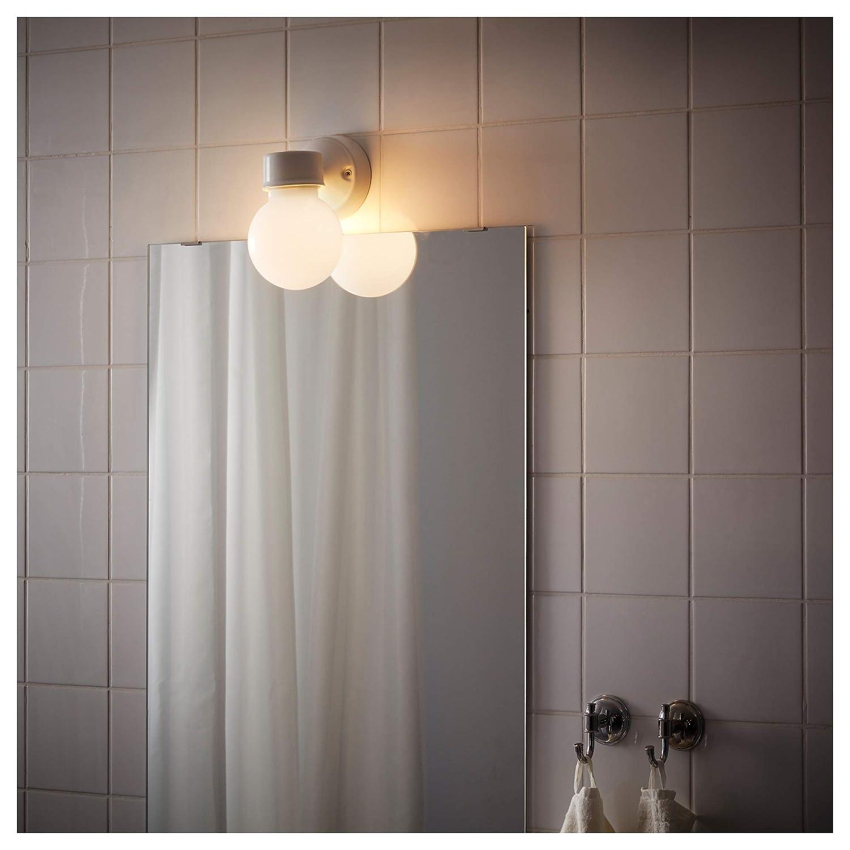 Amazon.com: IKEA 202.387.46 Vitemölla - Lámpara de pared ...