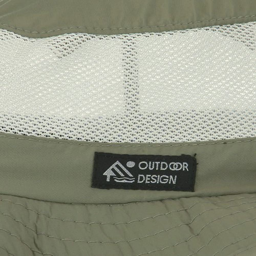 Explorer Mesh Outdoor Hat Fossil W07S66F UPF 50