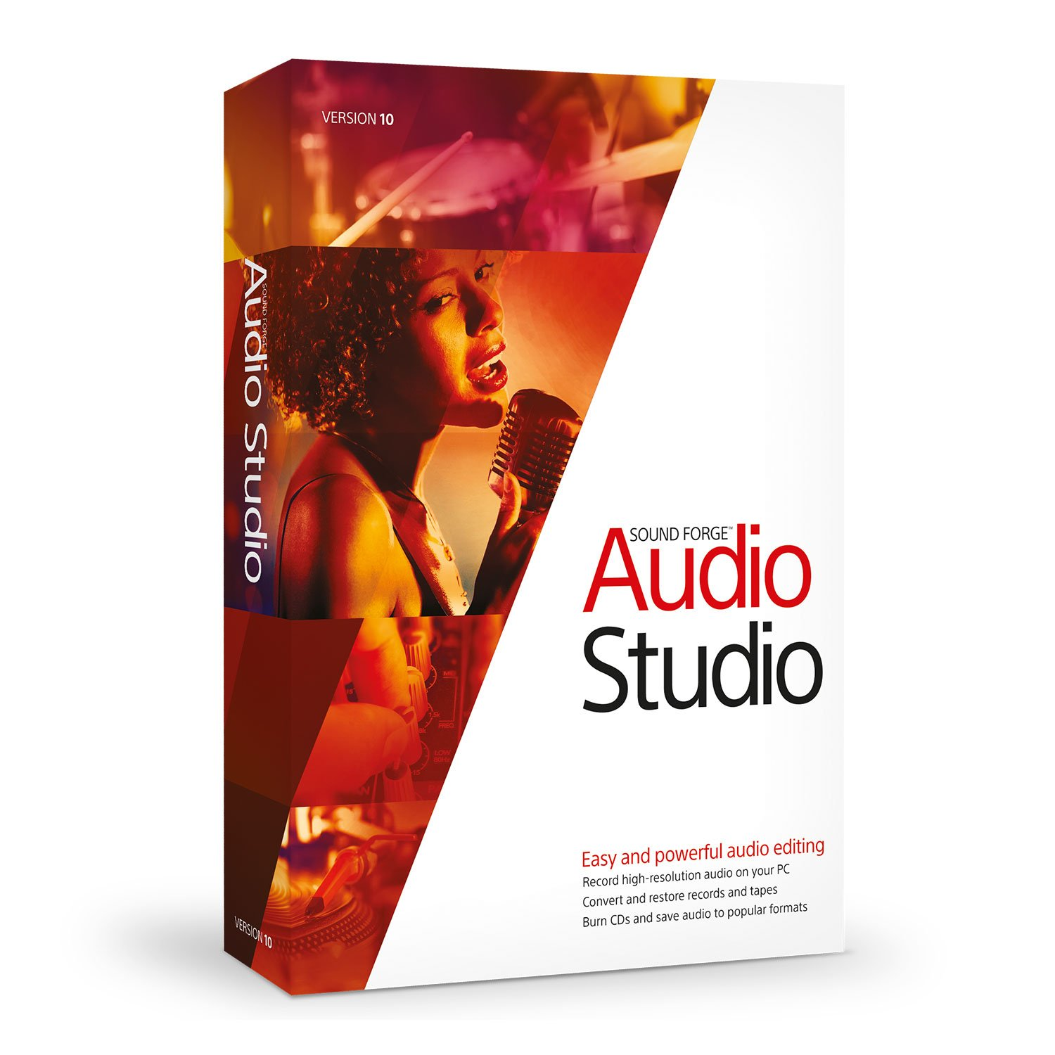 Sound Forge Audio Studio 10 by Sound Forge