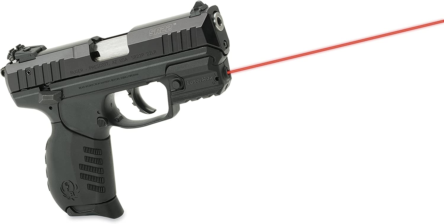 Red LMS-RMSR For Use On Ruger SR Series LaserMax Rail Mounted Laser